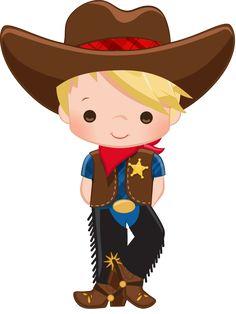 Clipart Of A Cowboy