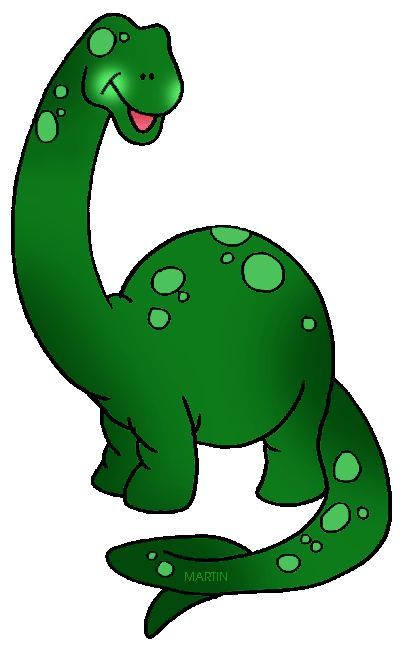 Clipart Of A Dinosaur