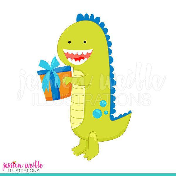 600x600 Birthday Dinosaur Cute Digital Clipart, Dinosaur Clip Art