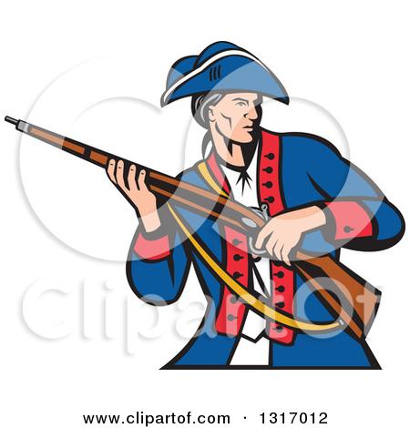 450x470 Patriot Soldier Clip Art Clipart