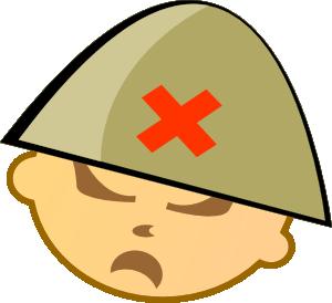 300x274 Soldier Clip Art