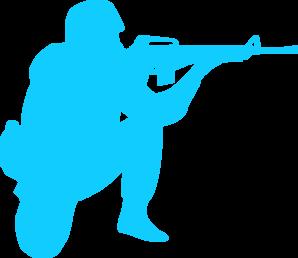 298x258 Blue Soldier Png, Svg Clip Art For Web