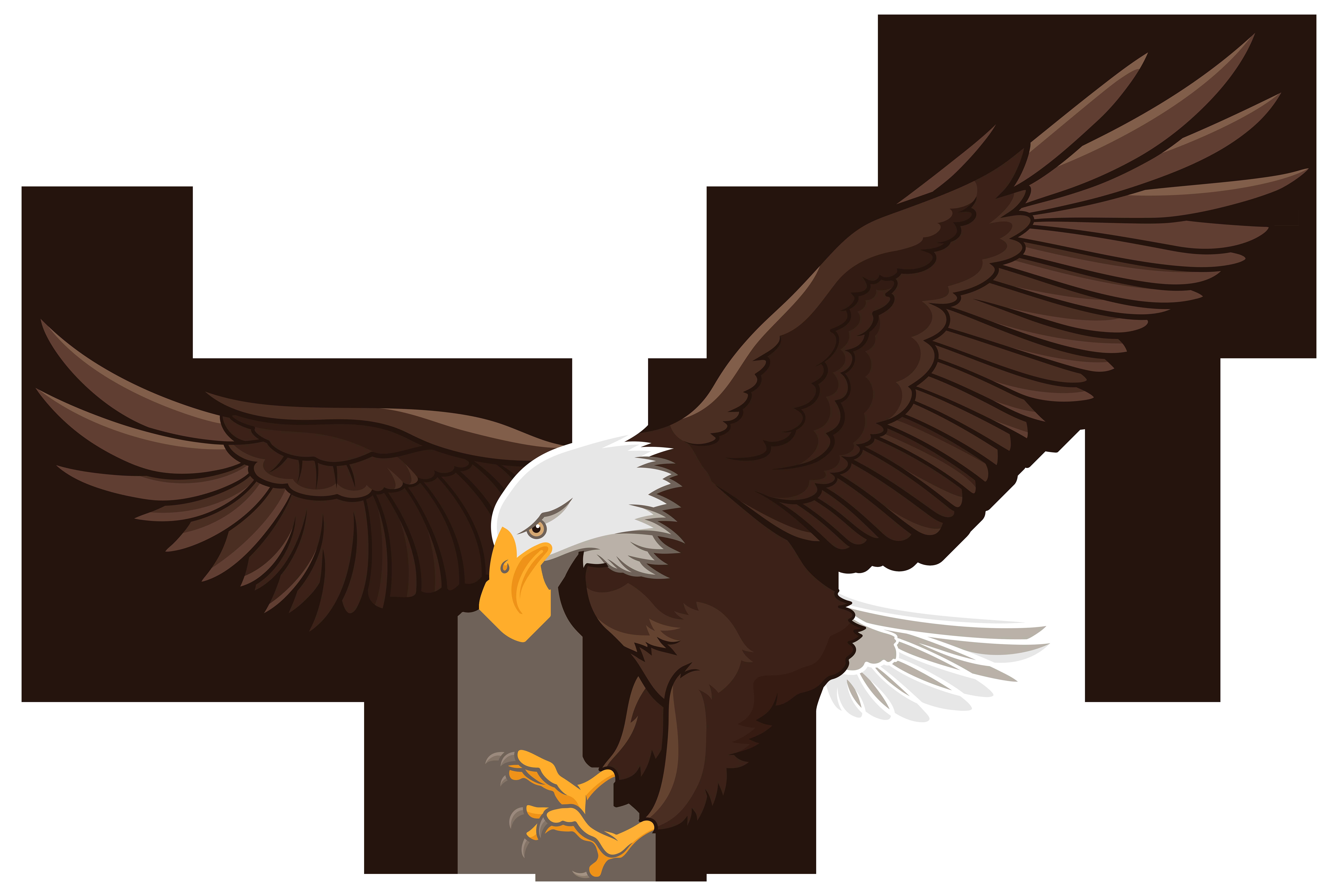 8000x5359 Eagle Png Clip Art