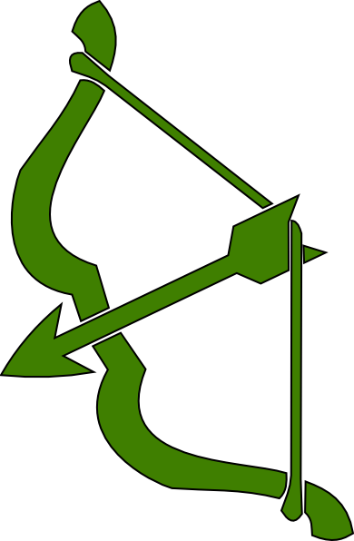 390x596 Bow N Arrow Clip Art