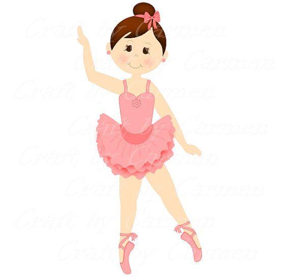 570x550 Ballerina Clip Art Dancer Ballet Digital Art By Craftbycarmen