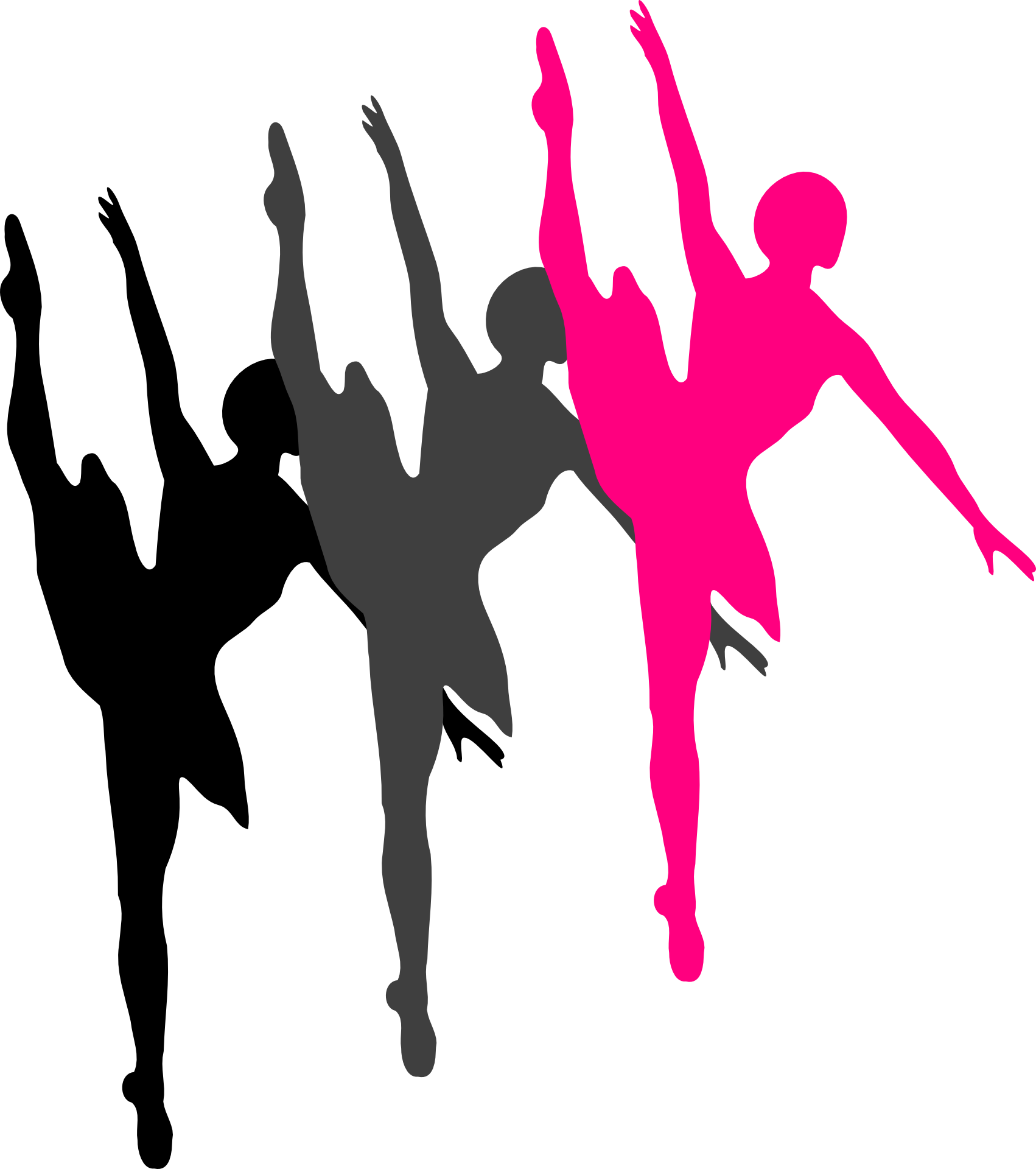 1702x1920 Ballet Dancer Silhouette Clip Art