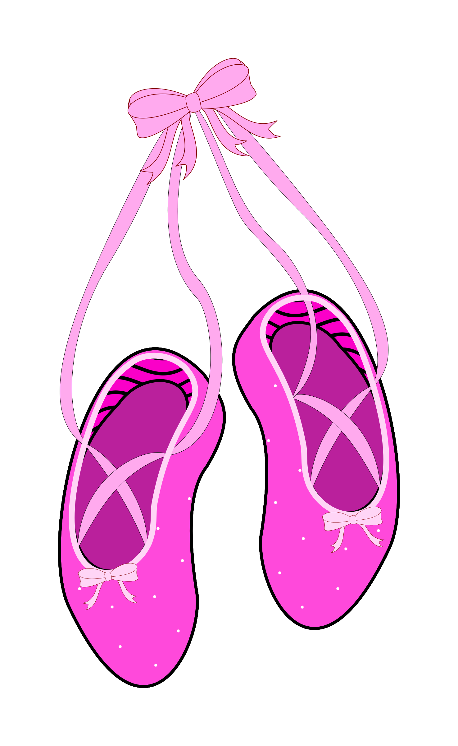 1475x2400 Incredible Decoration Ballet Dance Shoes Clipart Slippers