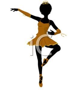 273x300 An African American Ballet Dancer Performing A Pirhouette