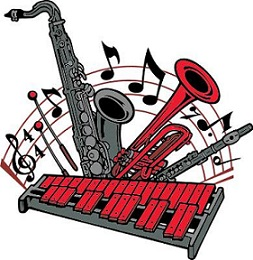 253x260 Free School Band Clipart