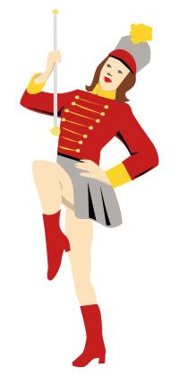 200x420 Marching Band Clip Art Lovetoknow