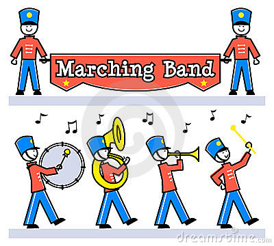 400x360 Marching Clipart