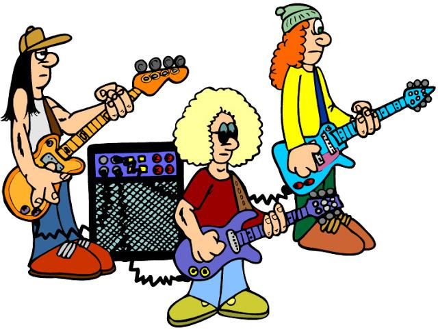 640x488 Rock Band Clipart Collection
