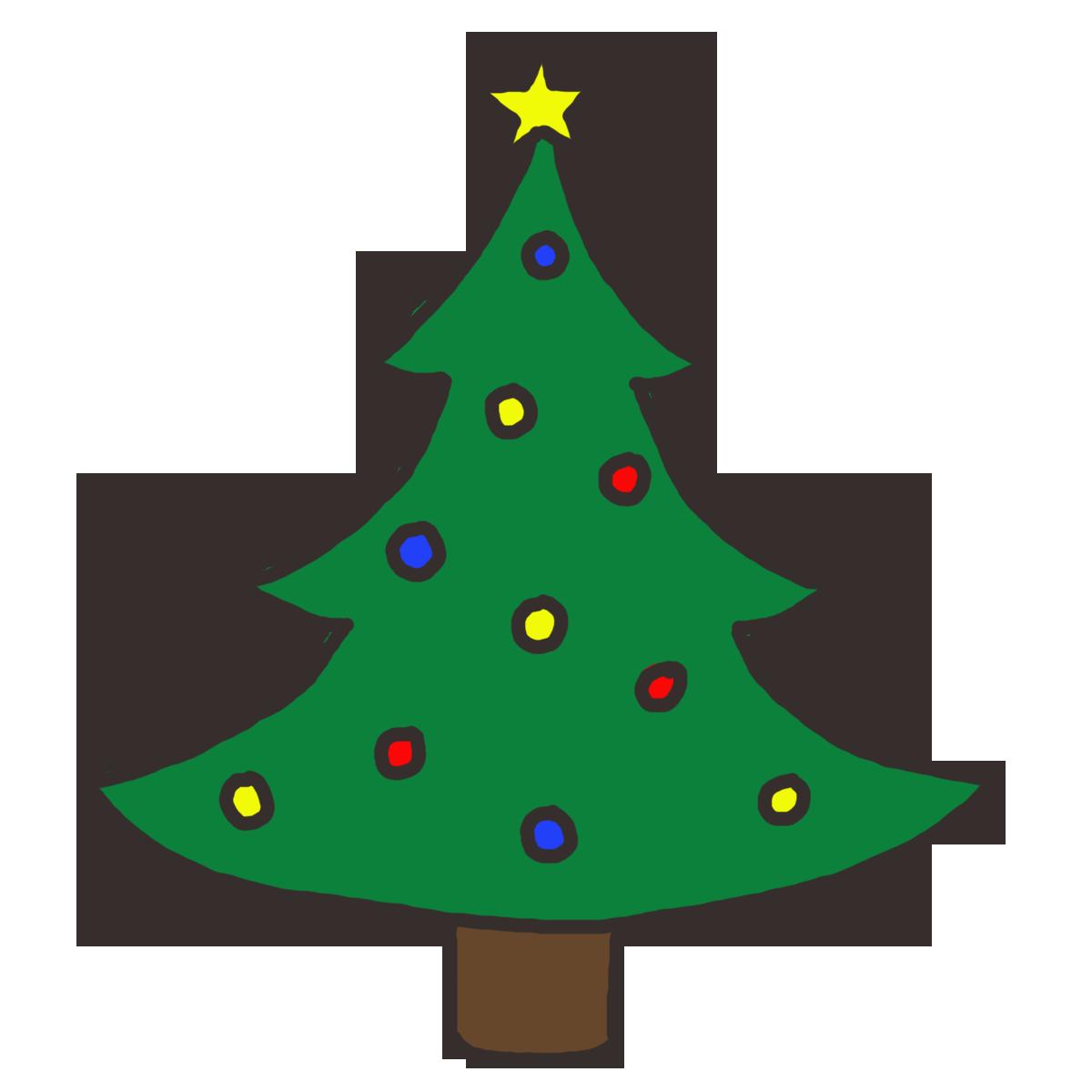 1200x1200 Christmas Tree Clip Art Christmas Tree Clipart