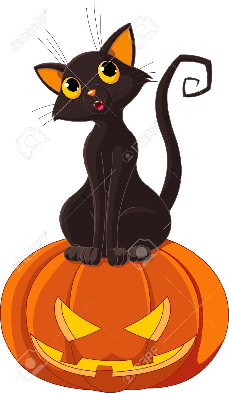 Clipart Of Black Cats
