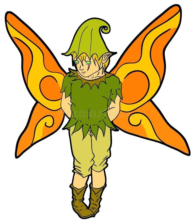 784x900 Fairies Clip Art Boy Fairy Download Fairy Boy Stock Illustration