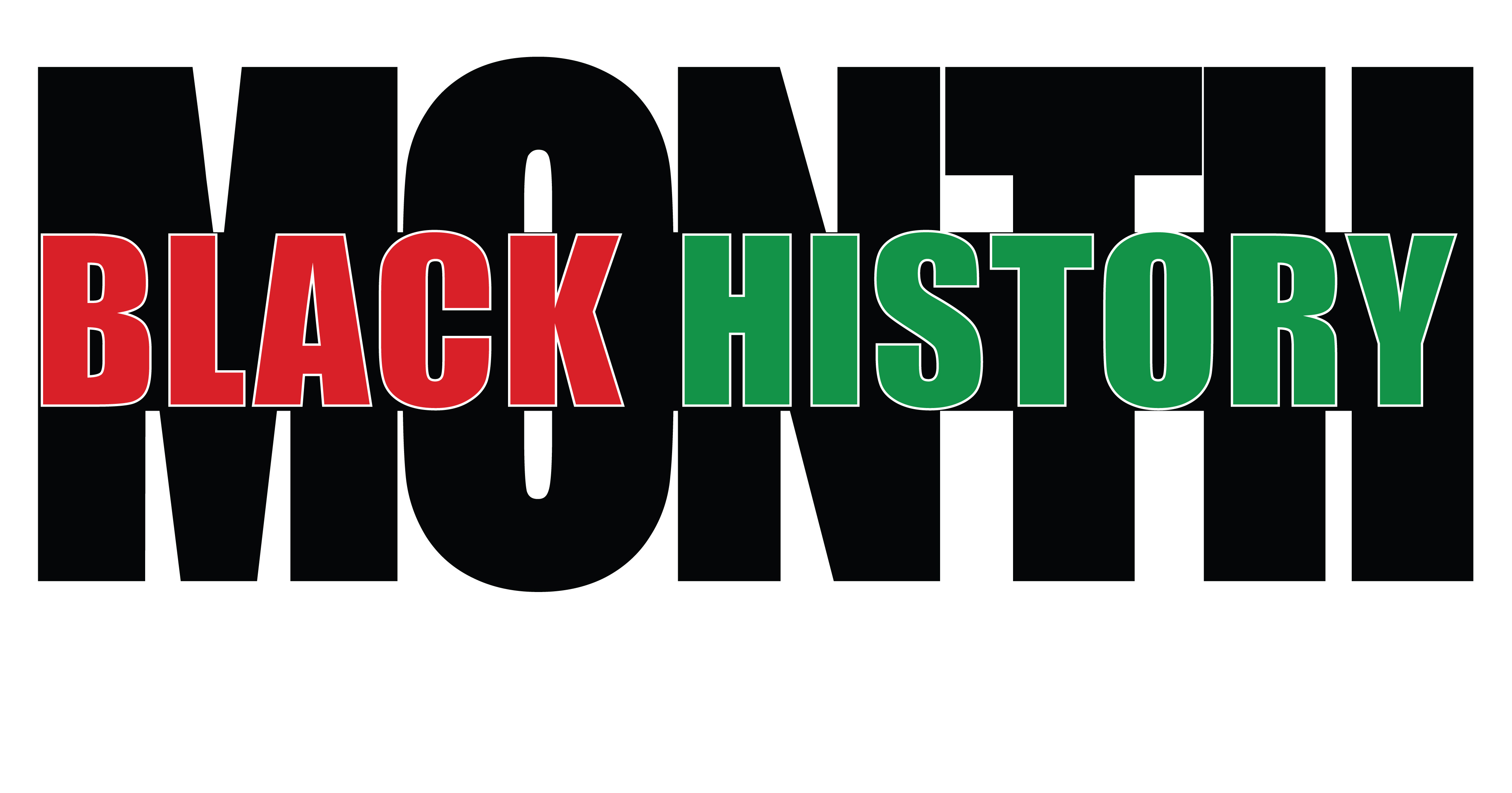 4000x2099 Free Clipart Of A Black History Month Design