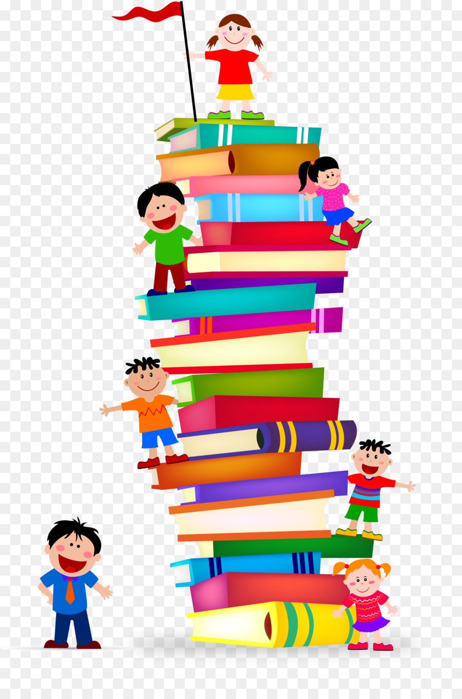 900x1360 Book Library Stack Clip Art