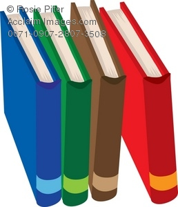258x300 Book In A Library Royalty Free Clip Art Image