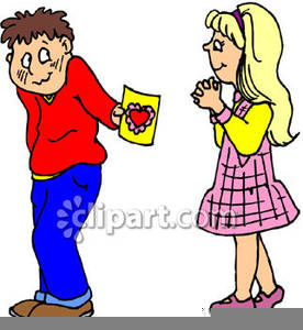 276x300 Free Clipart Boy And Girl Free Images