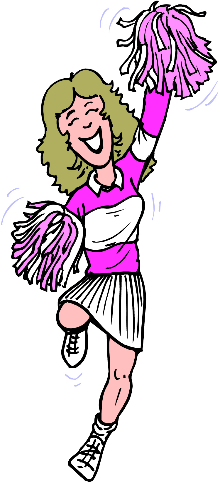 750x1644 Cheerleader Cheer On Cheerleading Ts And Clip Art 2