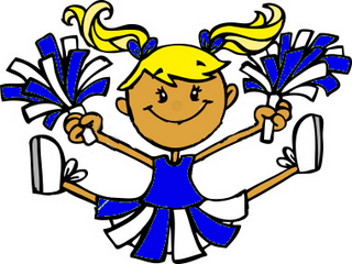 320x240 Cheerleader Clip Art Cheer Clipart 6