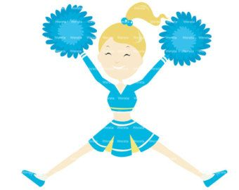 340x270 Cheerleader Clipart