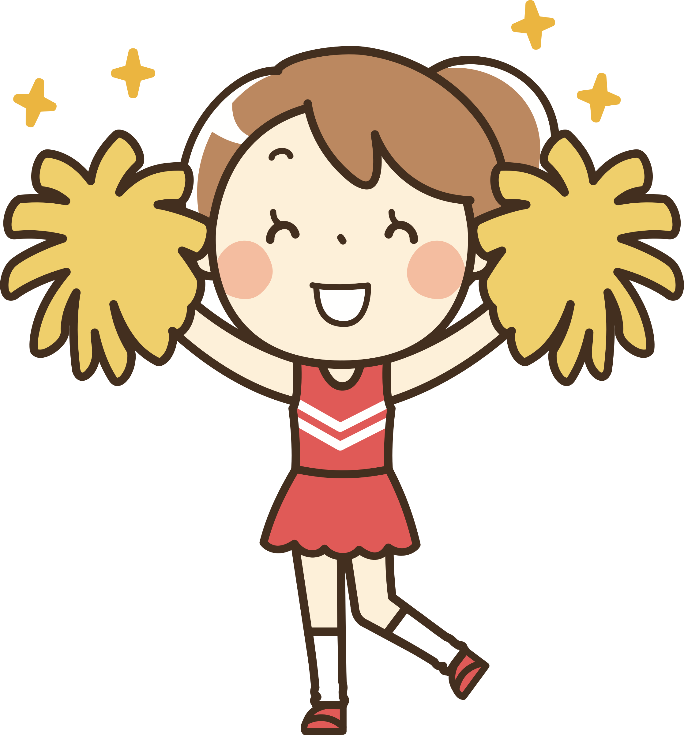 2234x2400 Cheerleader ( 1) Remixed Icons Png