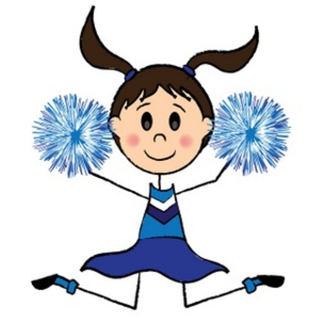 1024x1024 Cheerleader Clipart Thanksgiving Clipart