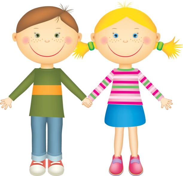 Clipart Of Children Holding Hands