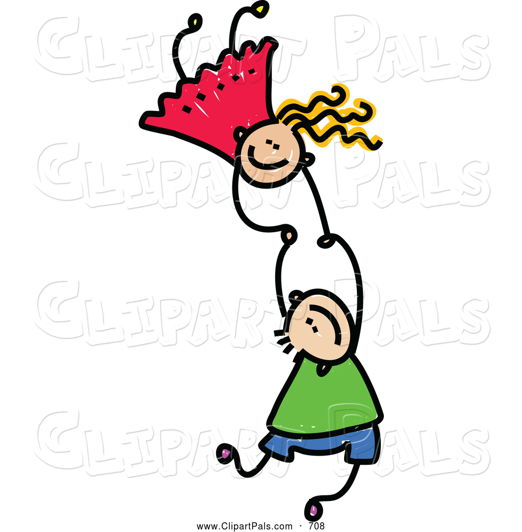 1024x1044 Pal Clipart Of A Childs Sketch Of Two Kids Holding Hands While
