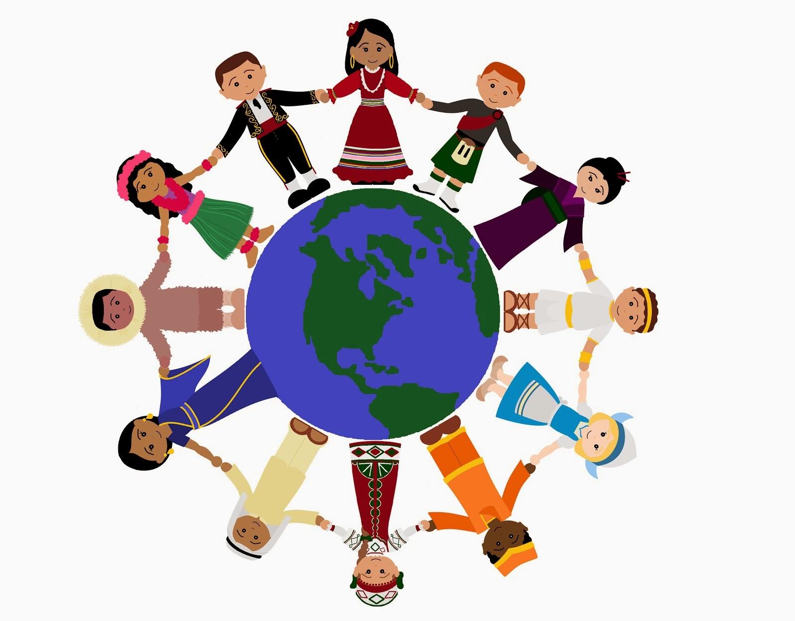1600x1250 Kids Citizen World Flags Clipart
