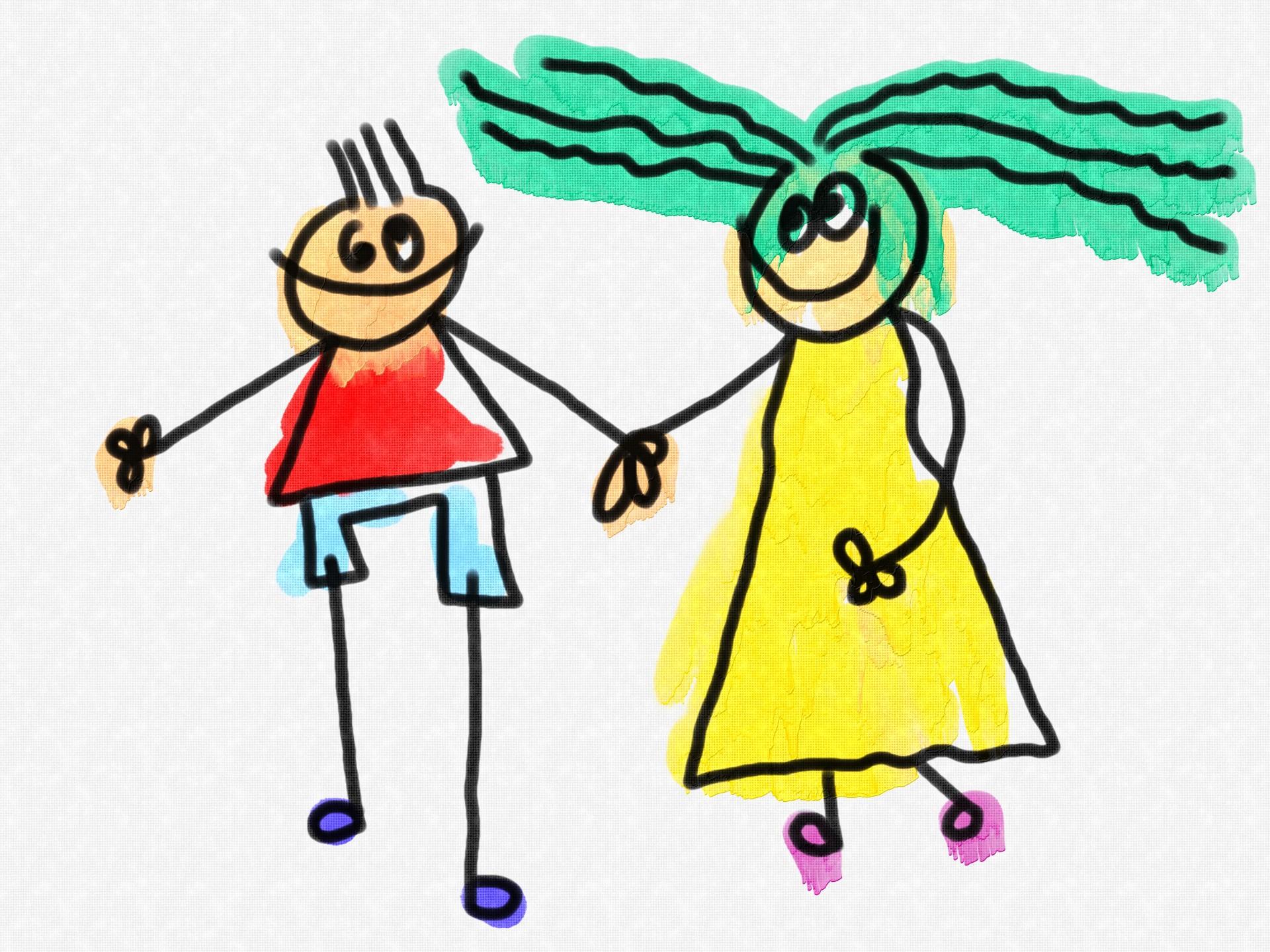 1920x1440 Children Holding Hands