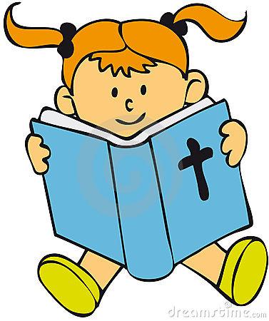 377x450 Clipart Children Reading