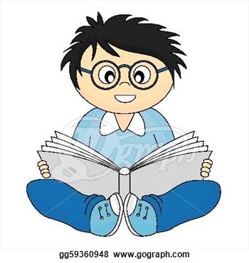 350x370 Pleasant Idea Child Clipart Free Clip Art Children Reading Books