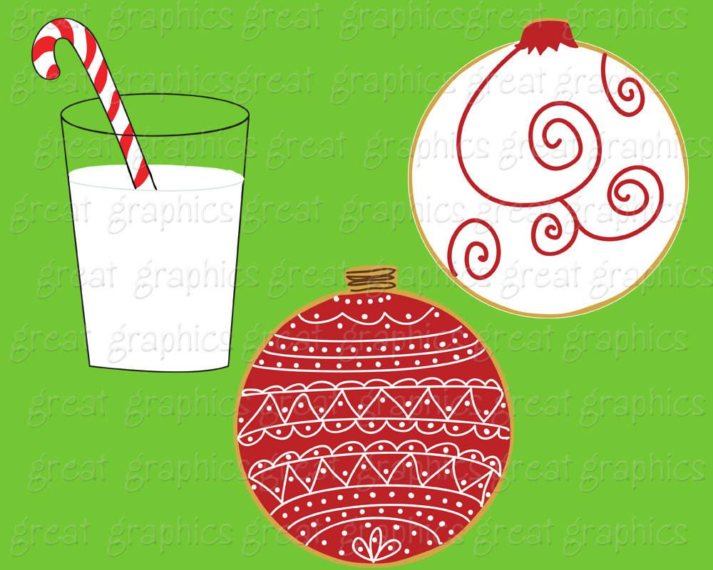 1000x800 Christmas Clipart Christmas Cookies And Milk Printable Christmas