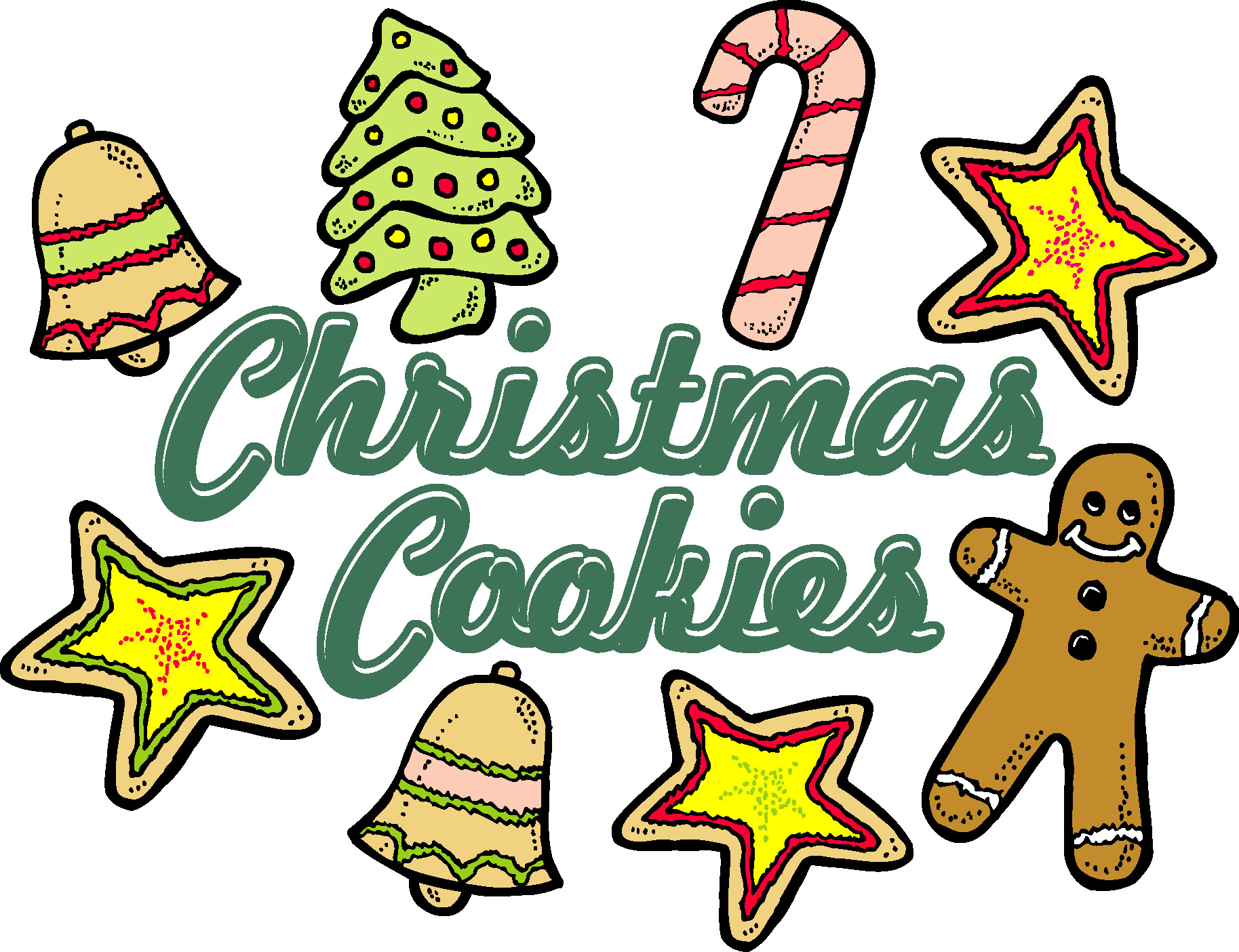 Clipart Of Christmas Cookies At Getdrawings Com Free For Personal