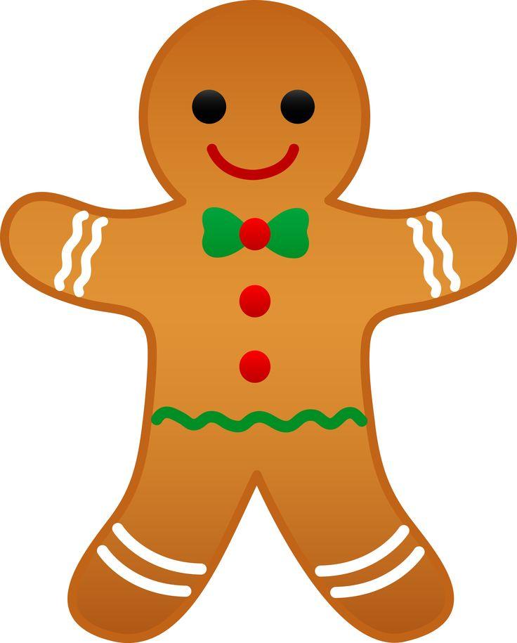 736x915 Gingerbread Man Art
