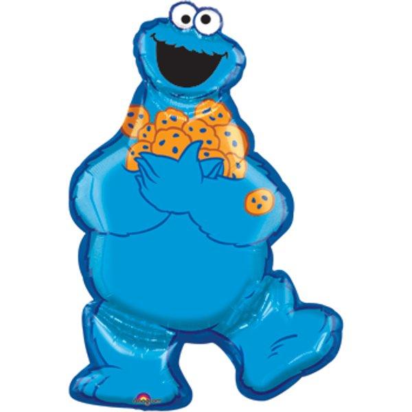 600x600 Baby Cookie Monster Clip Art