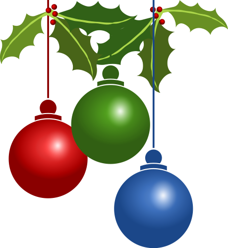 460x500 Christmas Decorations Clipart Find Craft Ideas
