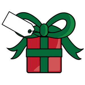 300x300 Christmas Present Clip Art