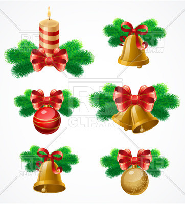 362x400 Set Christmas Decor Elements