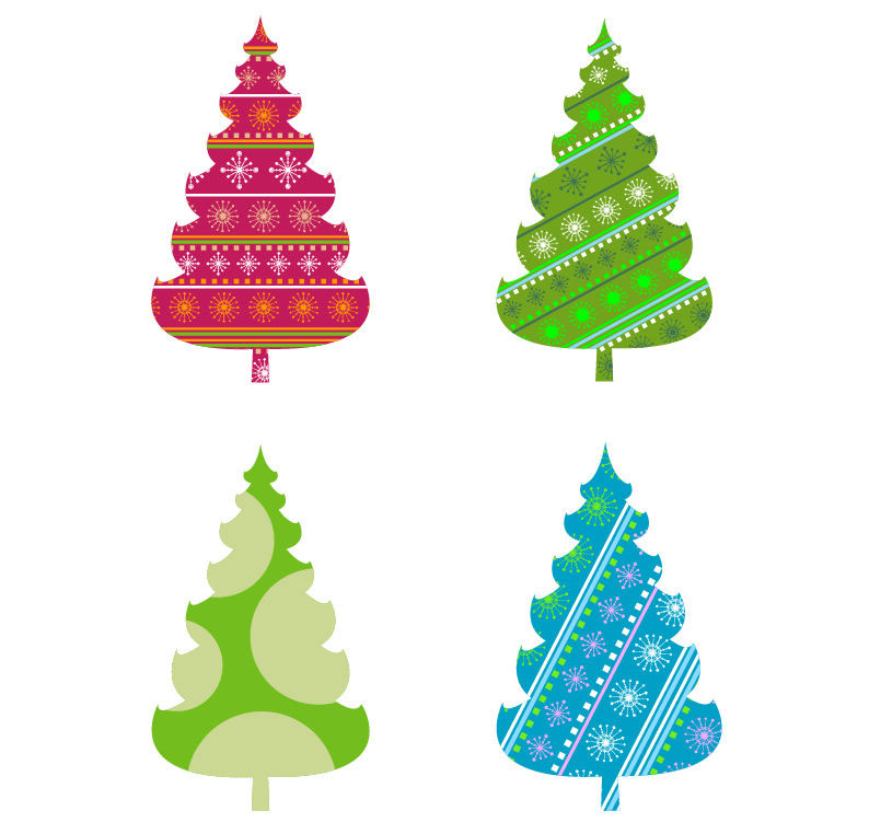 794x762 Xmas Stuff For Christmas Tree With Presents Clip Art