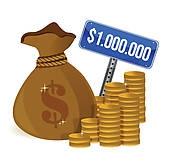 170x164 Million Dollar Bill Clip Art