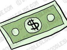 220x165 Money Bill Clipart Stylized Dollar Bill Money Clip Art Free Vector