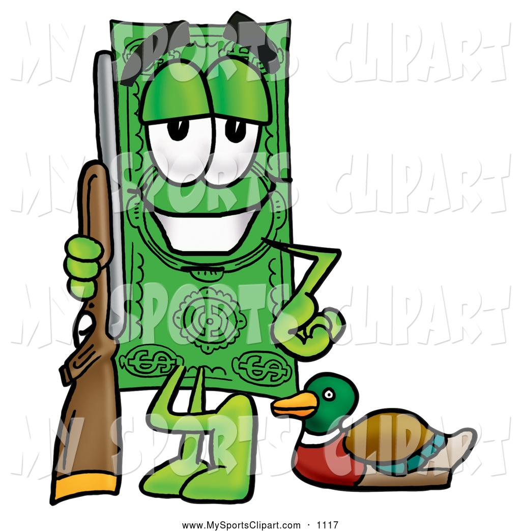 1024x1044 Sports Clip Art Of A Cheerful Dollar Bill Mascot Cartoon Character