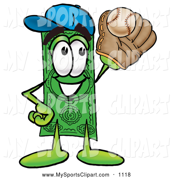 600x620 Sports Clip Art Of A Happy And Smiling Dollar Bill Mascot Cartoon