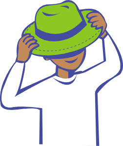 252x300 Hat Clothing Clip Art