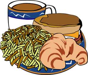 298x255 Fast Food Menu Samples Breakfast Clip Art