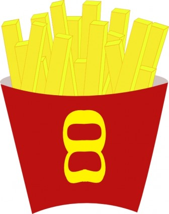 336x425 French Fries Clip Art Vector Clip Art Free Vector Free Download