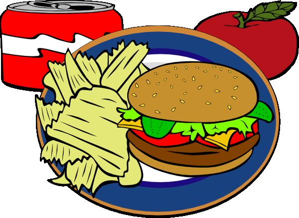 600x437 Fast Food Clip Art